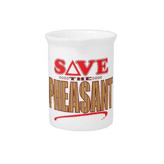 Pheasant Save Drink Pitcher