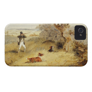 Pheasant Shooting (oil on canvas) 2 iPhone 4 Case