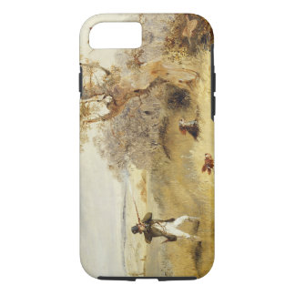 Pheasant Shooting (oil on canvas) 2 iPhone 8/7 Case