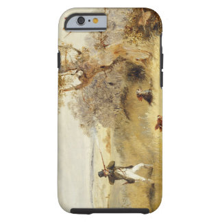 Pheasant Shooting (oil on canvas) 2 Tough iPhone 6 Case