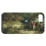 Pheasant Shooting (oil on canvas) 3 iPhone SE/5/5s Case