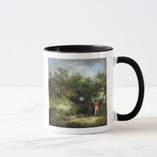 Pheasant Shooting (oil on canvas) 3 Mug