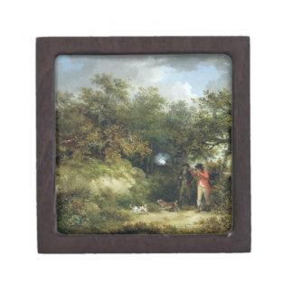 Pheasant Shooting (oil on canvas) 3 Premium Gift Boxes