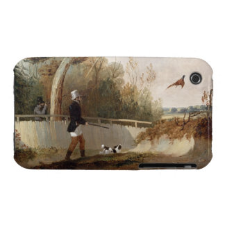 Pheasant Shooting (oil on canvas) iPhone 3 Case