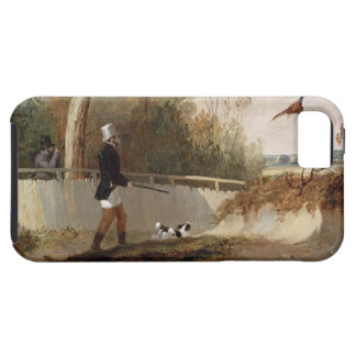 Pheasant Shooting (oil on canvas) iPhone SE/5/5s Case