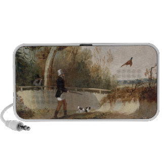 Pheasant Shooting (oil on canvas) Mp3 Speakers