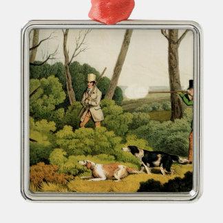 'Pheasant Shooting', pub. by Thomas McLean, 1820 ( Metal Ornament