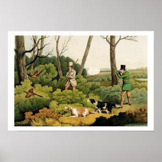 'Pheasant Shooting', pub. by Thomas McLean, 1820 ( Poster