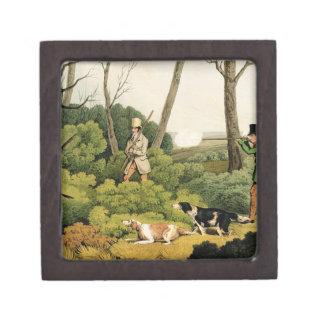 'Pheasant Shooting', pub. by Thomas McLean, 1820 ( Premium Jewelry Boxes
