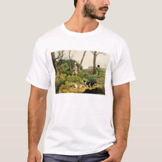 'Pheasant Shooting', pub. by Thomas McLean, 1820 ( T-Shirt