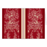 pheasant toile note card