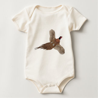 Pheasant without Text Baby Bodysuit