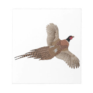 Pheasant without Text Note Pad