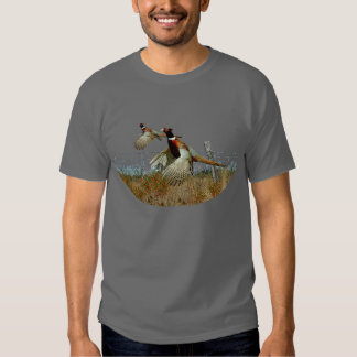 PHEASANTS ON THE WING TSHIRTS