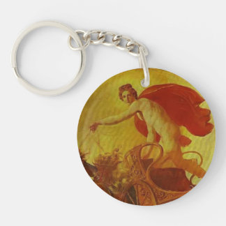 Pheb in His Chariot by Karl Bryullov Acrylic Key Chains