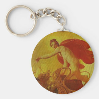 Pheb in His Chariot by Karl Bryullov Key Chain