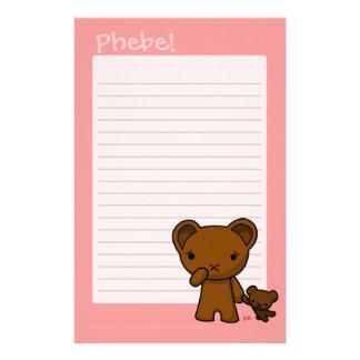 Phebe Writing Pad Stationery