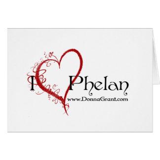 Phelan Greeting Card