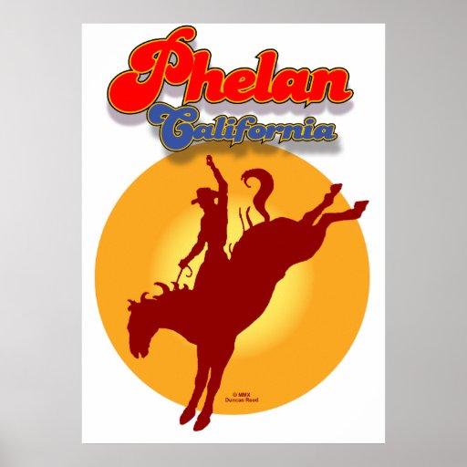 Phelan rodeo poster