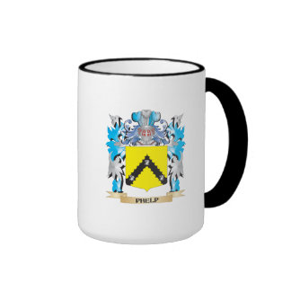 Phelp Coat of Arms - Family Crest Ringer Coffee Mug
