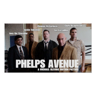 Phelps Avenue Group Poster