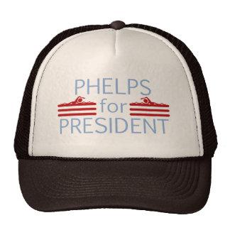 Phelps for President Trucker Hat