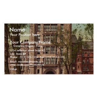 Phelps Hall and gateway, Yale College rare Photoch Double-Sided Standard Business Cards (Pack Of 100)