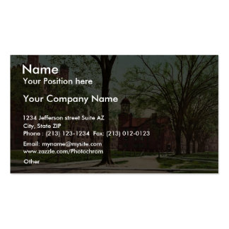 Phelps Hall and Lyceum, Yale College rare Photochr Double-Sided Standard Business Cards (Pack Of 100)