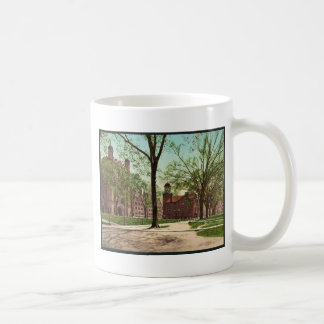 Phelps Hall and Lyceum, Yale College rare Photochr Classic White Coffee Mug