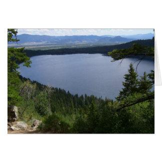 Phelps Lake at Grand Teton National Park Card