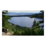 Phelps Lake at Grand Teton National Park Poster