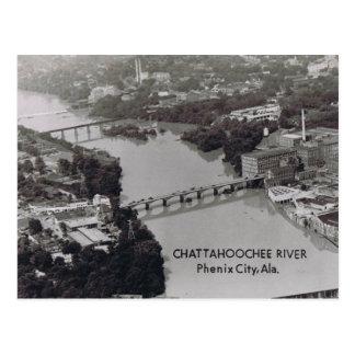 Phenix City Alabama Postcard