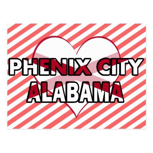 Phenix City, Alabama Postcard