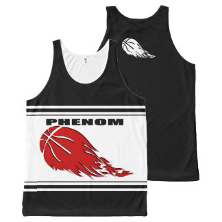Phenom All-Over Printed Unisex Tank All-Over Print Tank Top