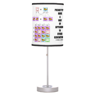 Phenotypes Way Of Appearing Generations Cats Desk Lamp