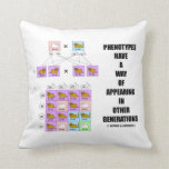Phenotypes Way Of Appearing Generations Cats Pillow