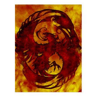 Pheonix Rising Fantasy 2 Postcard