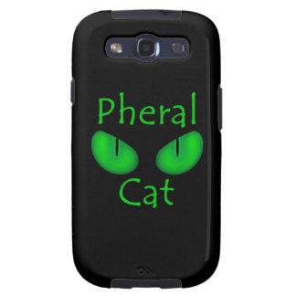 Pheral Cat Green Eyes Official Album Art Samsung Galaxy S3 Case