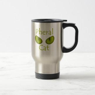 Pheral Cat (Olive Eyes) Travel Mug