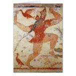 Phersu dancing greeting cards