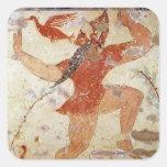 Phersu dancing sticker
