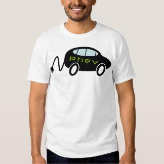 PHEV car and plug Tee Shirt