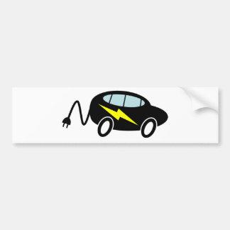 PHEV car bolt and plug Bumper Sticker