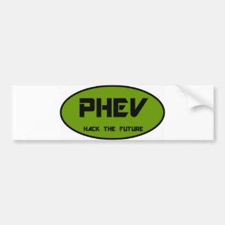 PHEV hack the future Bumper Sticker
