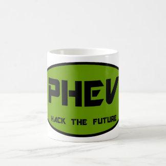 PHEV Hack the Future Classic White Coffee Mug