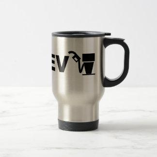 PHEV plug and pump 15 Oz Stainless Steel Travel Mug