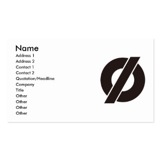 PHI BUSINESS CARDS