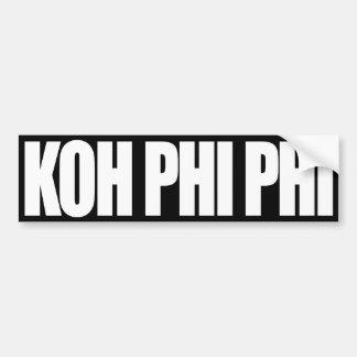 Phi de la phi de la KOH Pegatina Para Auto