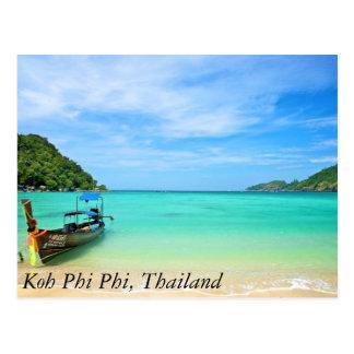 Phi de la phi de la KOH, Tailandia Tarjetas Postales