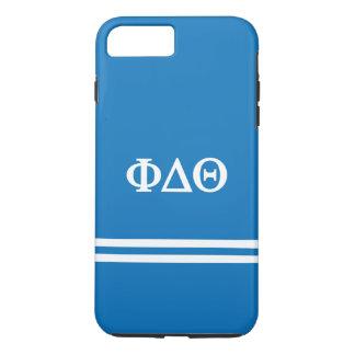 Phi Delta Theta   Sport Stripe iPhone 8 Plus/7 Plus Case